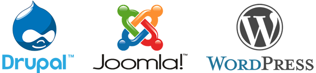 CMS comparison - Drupal, Joomla & Wordpress